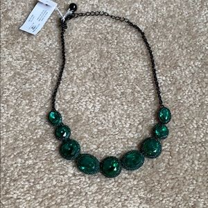 Necklace green Kate spade